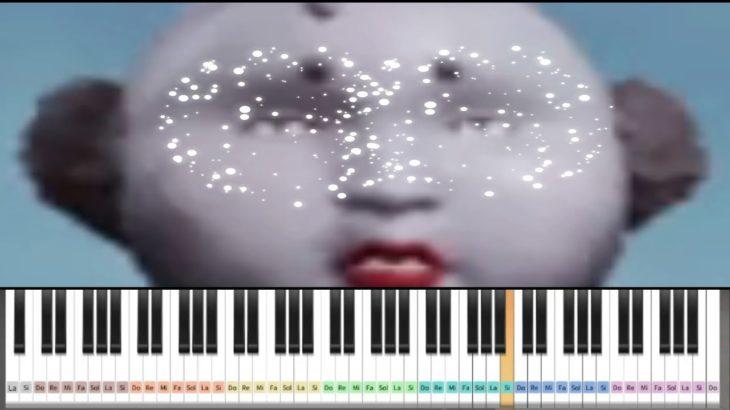 荒野行動マイトピアの【ピアノ】で【紅蓮華】弾いてみた