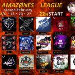 【荒野行動】AMAZØNES LEAGUE(FFL提携リーグ戦)season February DAY2