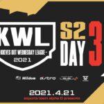 【荒野行動 最高峰リーグ】KWL 4月度 DAY3【BACCARAT1位 Core 祝祭 が追う!】超無課金&Bocky&柴田
