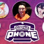 【Gartic Phone】お絵かき伝言ゲーム。仏、れんぴき、くん、JUMP、たき、どてぴ、くままむ