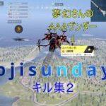 【荒野行動】ojisundayキル集2 芝刈り機〆夢幻さんのAAAヴンダーに乗りました!